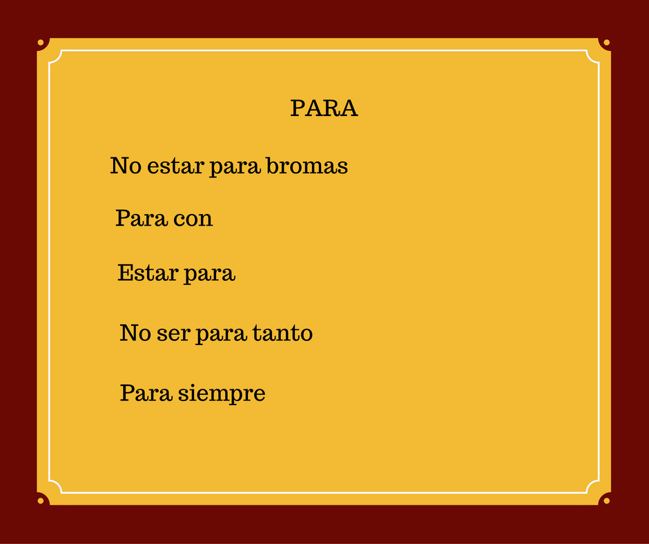 spanish-expressions-with-para