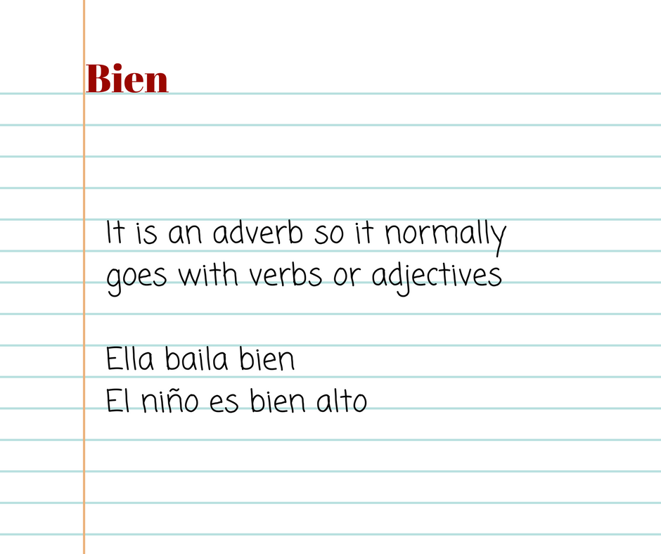bien-in-spanish