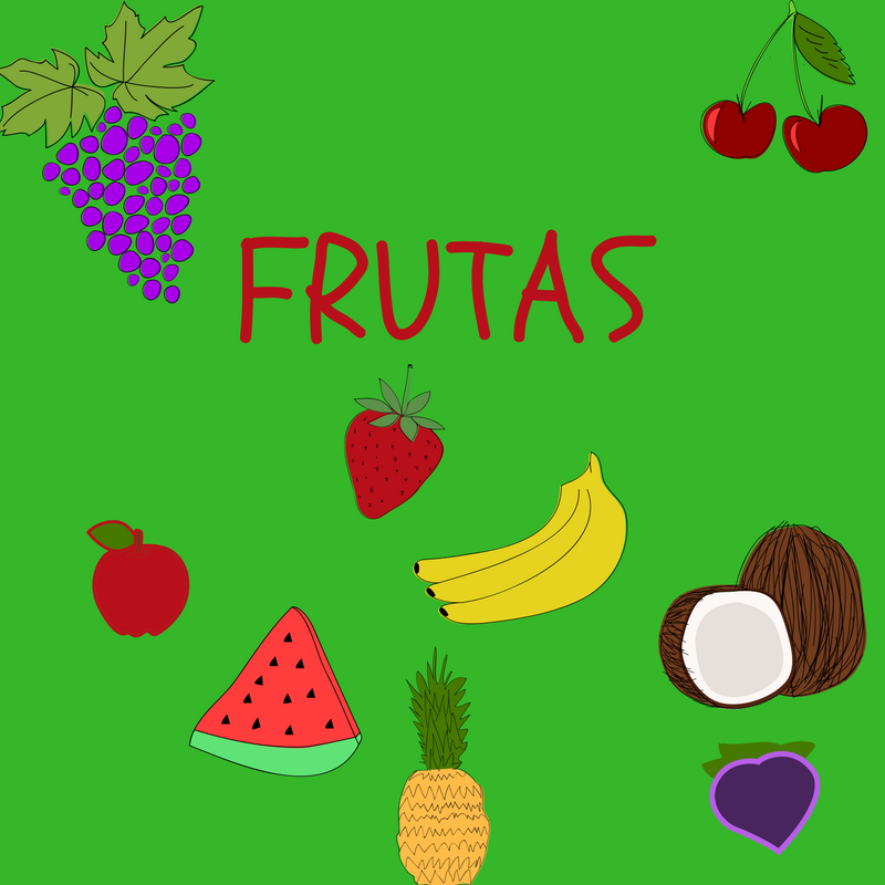 how to say fruit in spanish