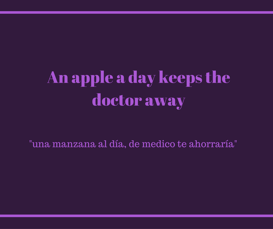 how-do-you-say-an-apple-a-day-keeps-the-doctor-away