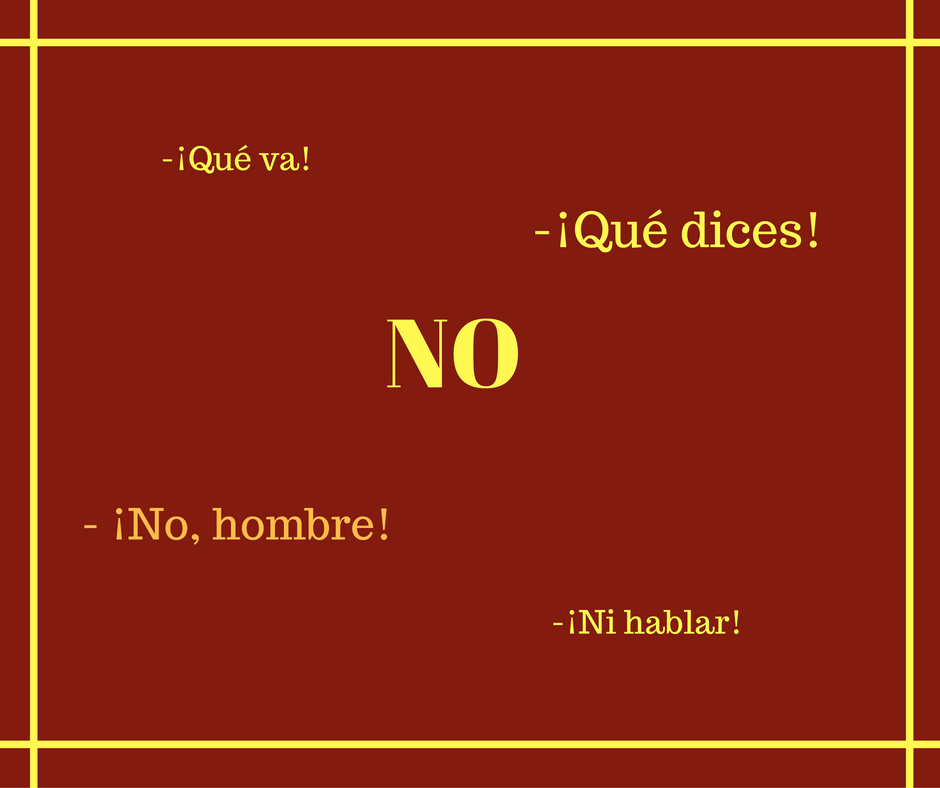 how-to-say-no-in-spanish