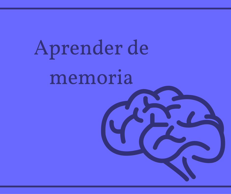 what-does-aprender-de-memoria-mean-in-english