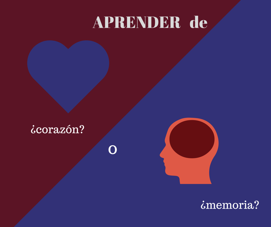 what-does-aprender-de-memoria-mean
