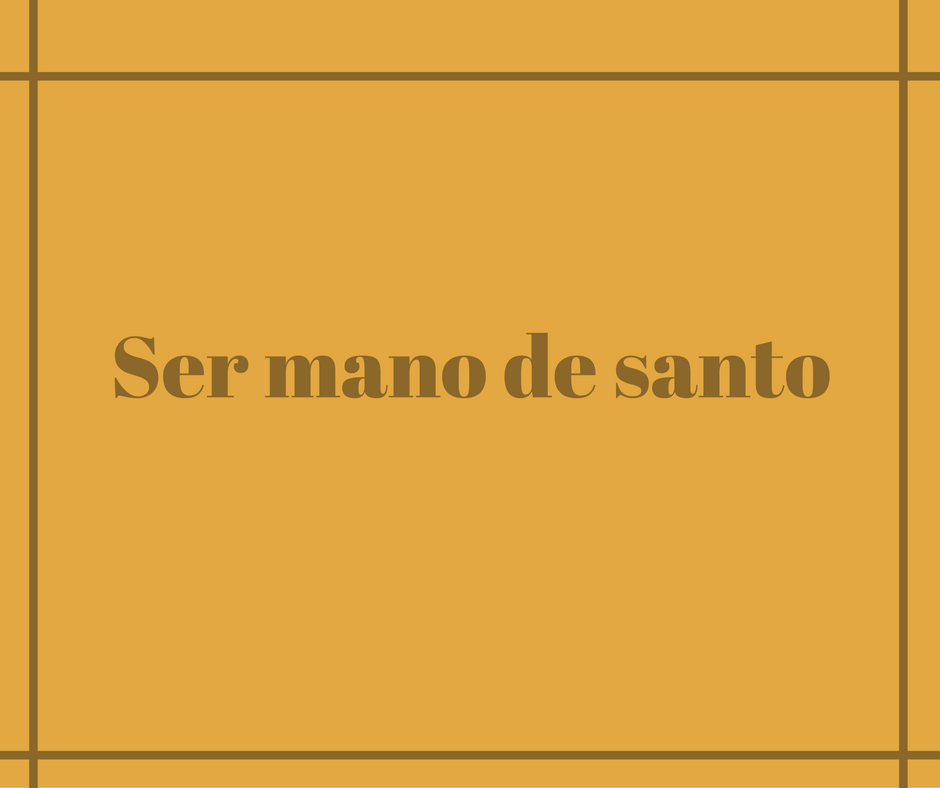what-does-mano-de-santo-mean